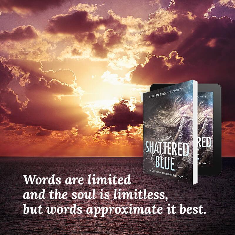 Shattered Blue by Lauren Bird Horowitz