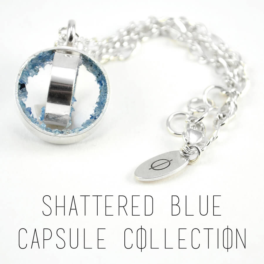 Shattered Blue Capsule Collection